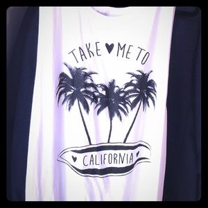 Tops - Take me to California tank! 🌴🌴🌴💙